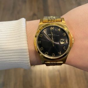 Marc by Marc Jacob's gold watch